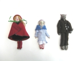 'Little Red Ridding Hood, Grandma and The Wolf' Individually Priced