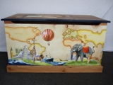Around The World In 80 Days Toy Box Front
