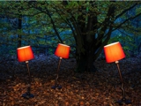 Crooked Lamps (in woods)